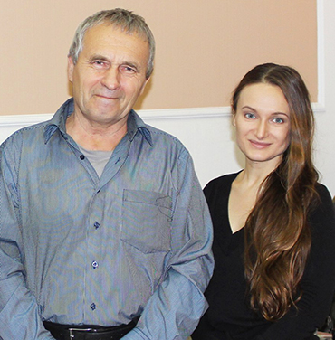 Елена Жигалова и Евгений Аверьянов